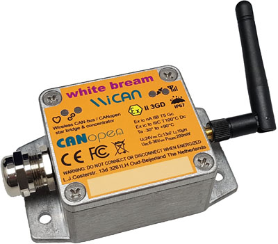 Wireless CAN-bus bridge & concentrator